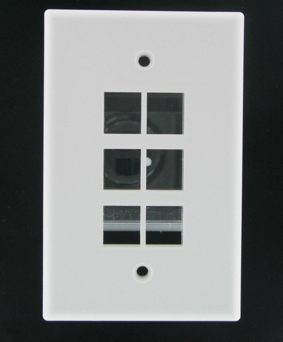 Mid-Size Wallplate